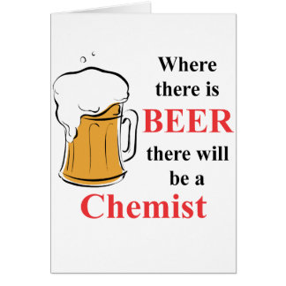Where there is Beer - Chemist Card