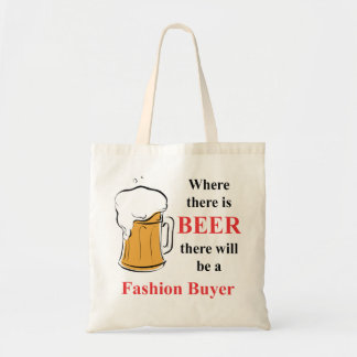 Where there is Beer - Fashion Buyer Canvas Bags