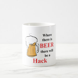 Where there is Beer - Hack Coffee Mug