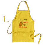 Where there is Beer - Historian Apron