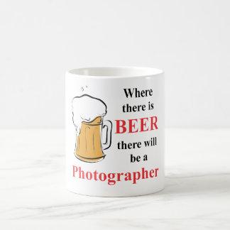 Where there is Beer - Photographer Coffee Mug