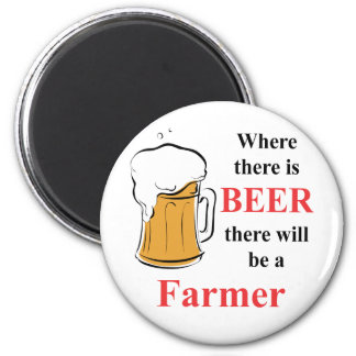 Where there is beer there is a farmer magnet