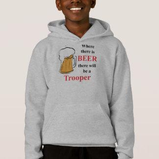 Where there is Beer - Trooper Hoodie