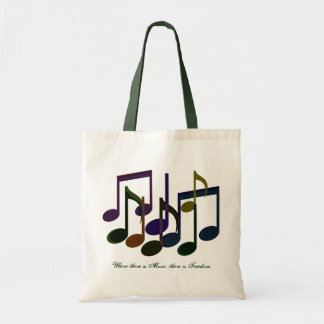 Where there is Music Budget Tote Bag