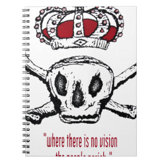 Where There Is No Vision The People Perish Notebook