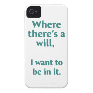 Where there's a wil... Case-Mate iPhone 4 case
