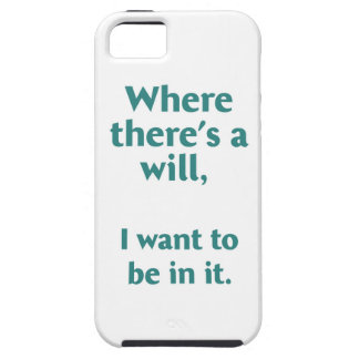 Where there's a wil... iPhone SE/5/5s case