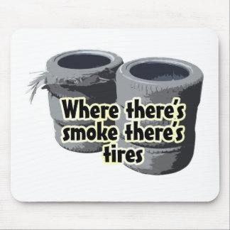 Where theres smoke... mouse pad