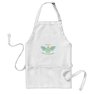 Where Time Goes Adult Apron