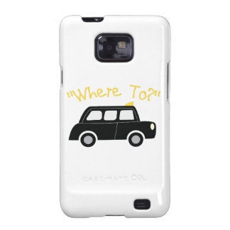 Where To? Galaxy SII Case