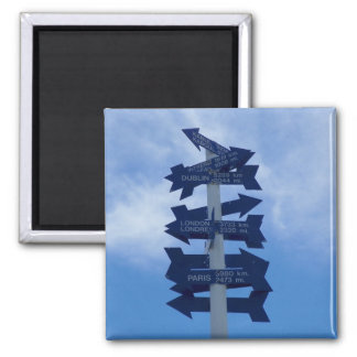 Where To From Here 2 Inch Square Magnet