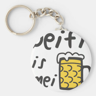 Where to the Deifi is mei Bia Keychain