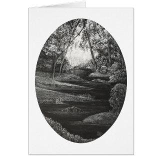 Where waters meet. card