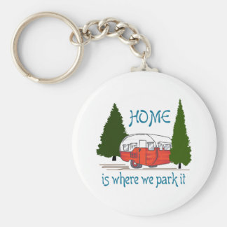 Where We Park It Keychain