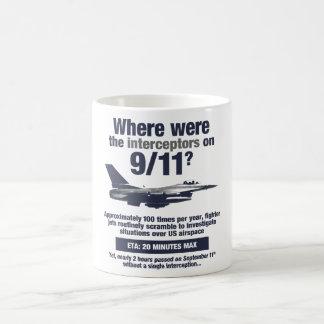 Where were the 911 interceptors? Coffee Mug