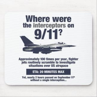 Where were the 911 interceptors? Mousepad