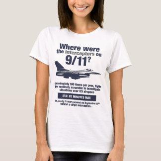 Where were the 911 interceptors? Women's T-shirt