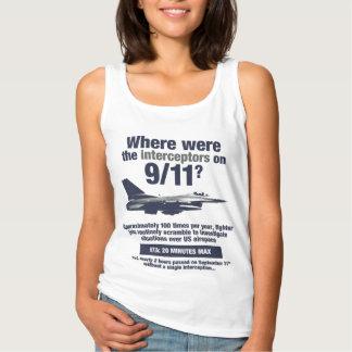 Where were the 911 interceptors? Women's Tank Top