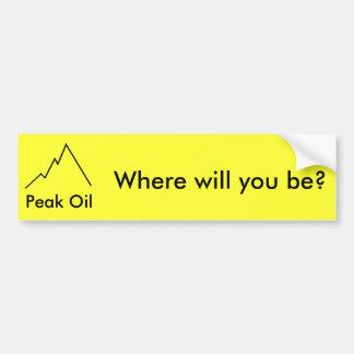 Where will you be? bumper sticker