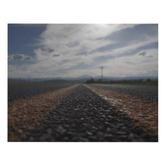 Where will your road take You? Panel Wall Art