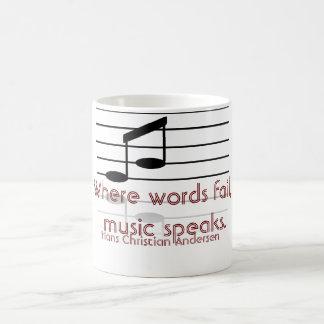 Where words fail -- coffee mug