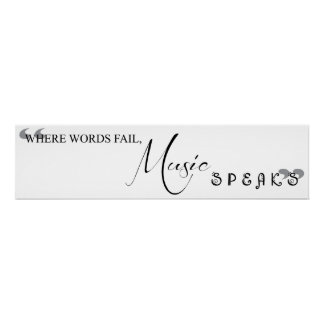 Where Words Fail, Music Speaks Poster
