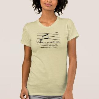 Where words fail - T-shirt