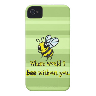 Where would I bee without you Blackberry Case