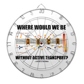 Where Would We Be Without Active Transport? Dart Boards
