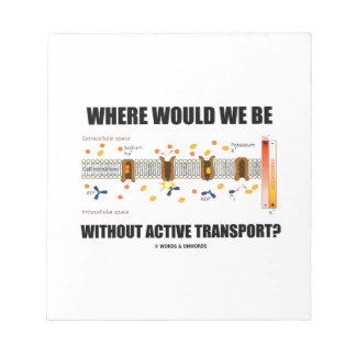 Where Would We Be Without Active Transport? Notepad