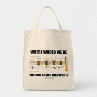 Where Would We Be Without Active Transport? Tote Bag