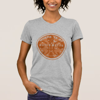 Where Yat Water Meter Fleur De Lid T-Shirt