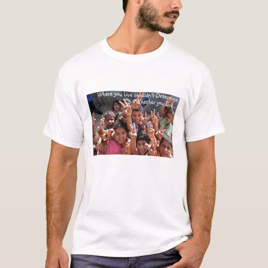 Where you live T-shirt