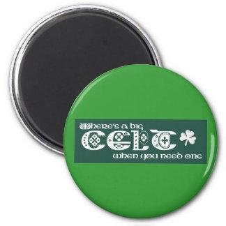 Where's a Celt? Magnet