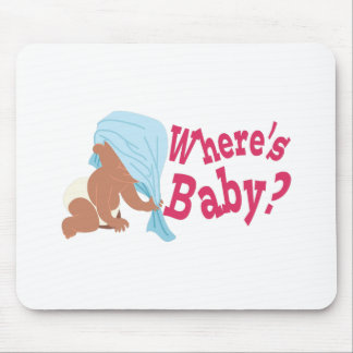 Where's Baby? Mouse Pad