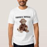 Where's Bongo the Monkey T-shirt