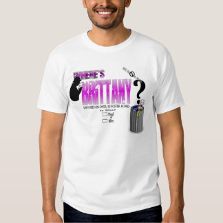 Where's Brittany T-Shirt