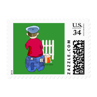 Where's Huck when You Need Him Postage