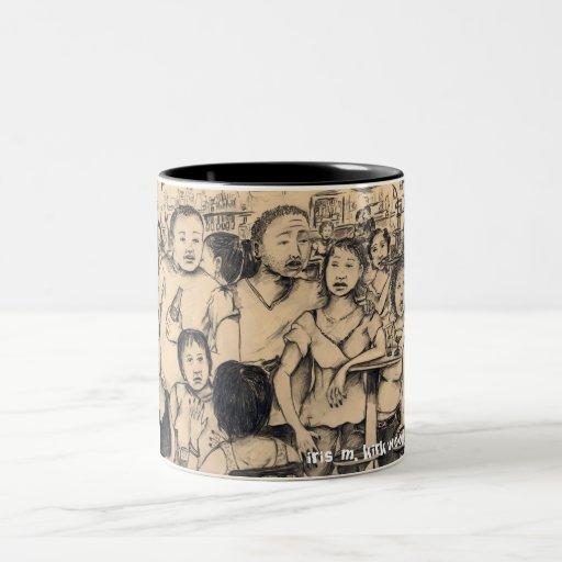 wheres la taza de café del lápiz del fiesta