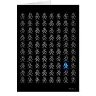 Where's Mega Man? Greeting Cards