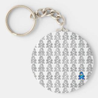 Where's Mega Man? Keychain