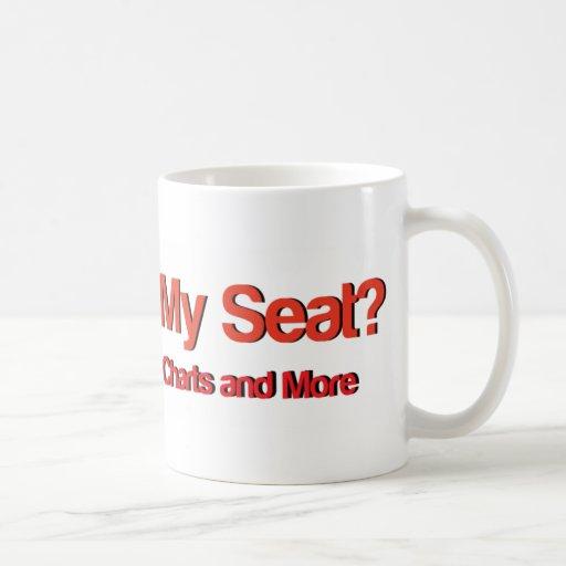 Wheres mi Seat Logo.jpg Taza Básica Blanca