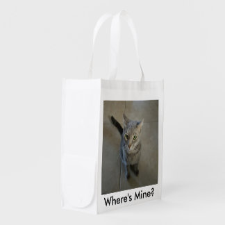 Where's Mine Resuable Grocery Bag