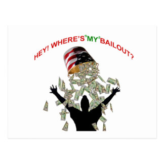 wheres my bail out postcard