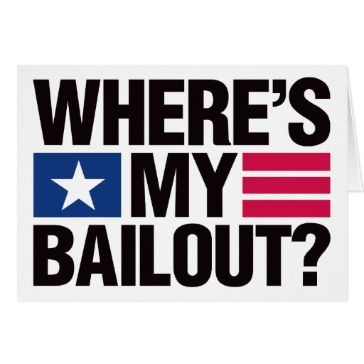 Wheres My Bailout - Black Card