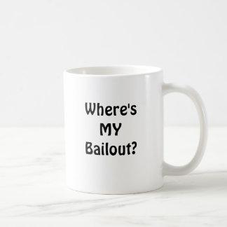 Where's MY Bailout? Coffee Mug