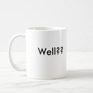 Where's MY Bailout?, Well?? Coffee Mug