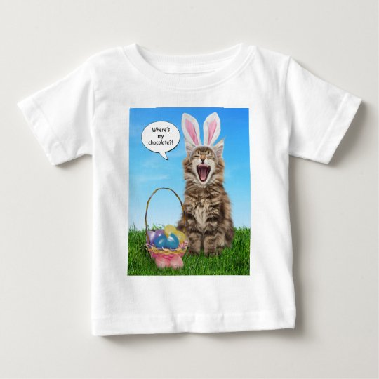 Where's My Chocolate? Kids Easter T-Shirt