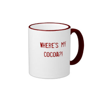 Where's My Cocoa / Is This My Cocoa? Mug