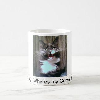 Wheres my Coffee Classic White Coffee Mug